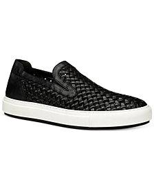 Donald Pliner Men's Clark Woven Slip-On Sneakers