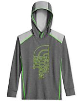 The North Face Reactor Hoodie, Big Boys (8-20)