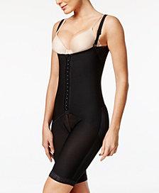 Leonisa Women's  Extra-Firm Tummy-Control Lace-Trim Body Shaper 018490