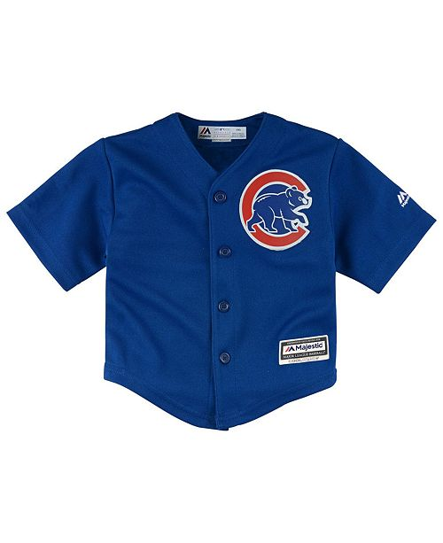 Majestic Chicago Cubs Blank Replica CB Jersey ee2dbec9118c