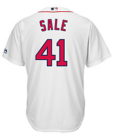 Majestic Men's Chris Sale Boston Red Sox Player Replica CB Jersey