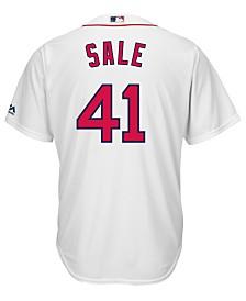 Majestic Men's Chris Sale Boston Red Sox Player Replica CB Jersey