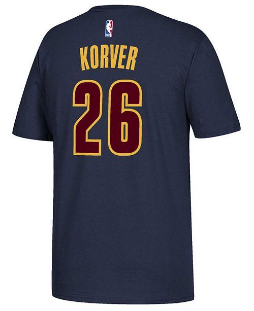 bbffbb7925e ... adidas Men's Kyle Korver Cleveland Cavaliers Player T-Shirt ...