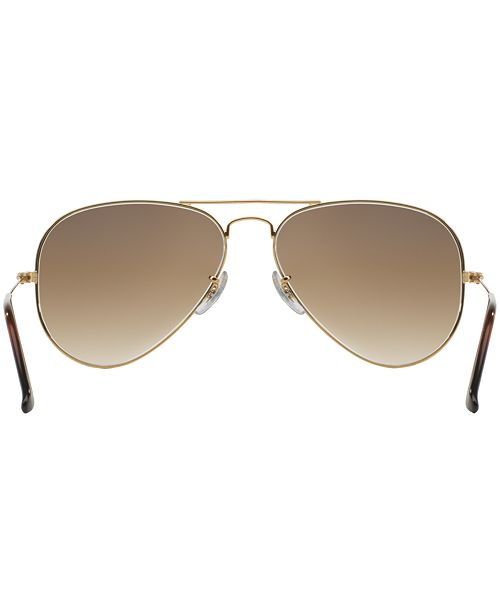 6a1573cdc Ray-Ban AVIATOR Sunglasses, RB3025 58 & Reviews - Sunglasses by ...