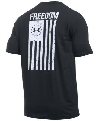 Men's Freedom Flag Short Sleeve T-Shirt