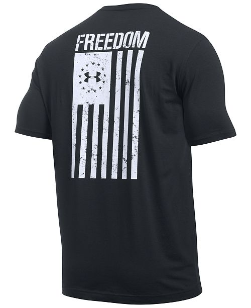c48ff4ac6fb0 Under Armour Men s Freedom Flag Short Sleeve T-Shirt   Reviews - T ...