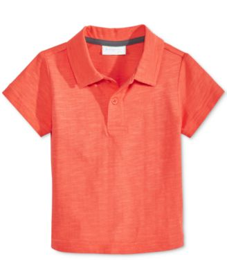 Image of First Impressions Cotton Polo Shirt, Baby Boys (0-24 months), Created for Macy's