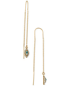 RACHEL Rachel Roy Gold-Tone Ear Threader Drop Earrings