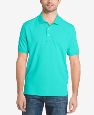 Image of G.H. Bass & Co. Men's Pique Performance Cotton Polo
