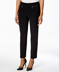 Nine West Zip-Pocket Pants