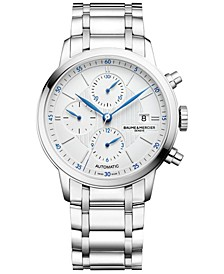 Men's Swiss Automatic Classima Stainless Steel Bracelet Watch 42mm M0A10331