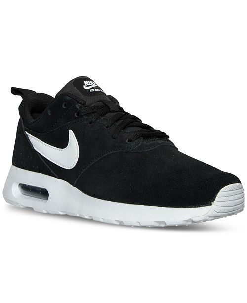 aa0fd058fee33 Nike Men s Air Max Tavas Leather Running Sneakers from Finish Line ...