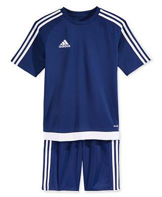 adidas Estro 15 Jersey & adidas Tastigo 17 Shorts, Big Boys