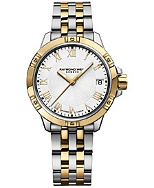 Women's Swiss Tango Two-Tone PVD Stainless Steel Bracelet Watch  30mm 5960-STP-00308