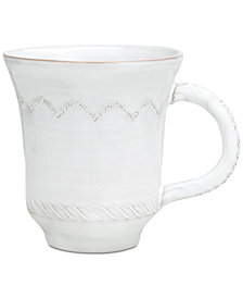 Vietri Bellezza White Mug