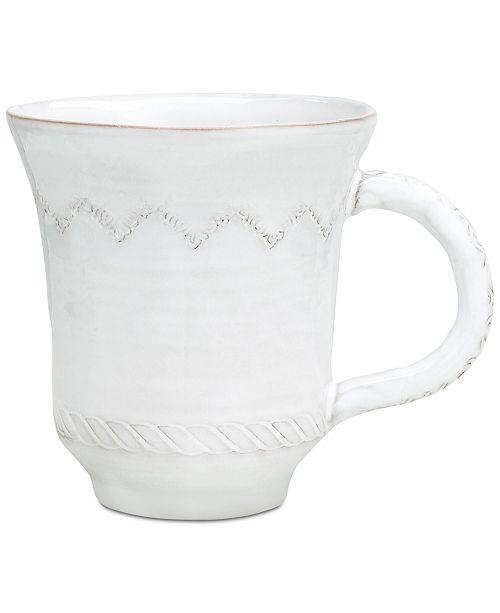VIETRI Bellezza White Mug