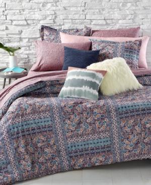 BCBGeneration Batik Floral FullQueen Comforter Set Bedding