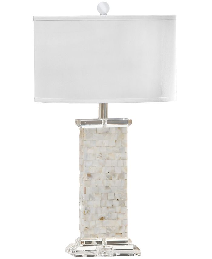 Regina Andrew Design - Crystal Mother of Pearl Column Table Lamp