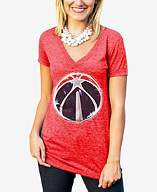 Gameday Couture Women's Washington Wizards Sequin Shine T-Shirt