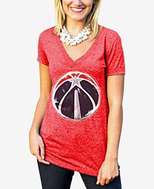 Gameday Couture Women's Washington Wizards Sequin Shine T-Shirt