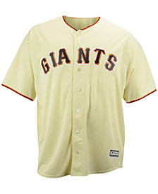 Majestic MLB Men's Big & Tall Shirt, San Francisco Giants Authentic Collection Jersey
