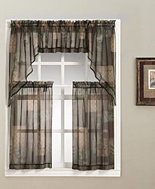 Eden Tier and Valance Collection