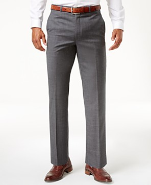 Save 71% on Lauren Ralph Lauren Solid Ultraflex Classic-Fit Dress Pants