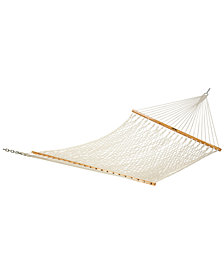 Presidential Size Original Cotton Rope Hammock, Quick Ship