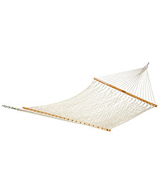 Deluxe Original Cotton Rope Hammock, Quick Ship