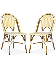 Wabyn Set of 2 Indoor/Outdoor Wicker Side Chairs
