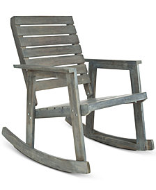 Brendyn Outdoor Rocking Chair, Quick Ship