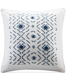"INK+IVY Cybil Embroidered Tufted 20"" Square Decorative Pillow"