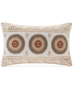 InkIvy Angelo Embroidered 12 x 20 Oblong Decorative Pillow Bedding