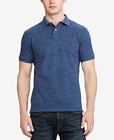 Men's Custom Slim Fit  Mesh Polo