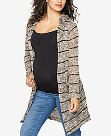 Splendid Maternity Open-Front Cardigan