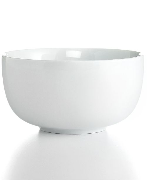 The Cellar Whiteware Cereal Bowl, Created for Macy\'s - Dinnerware ...