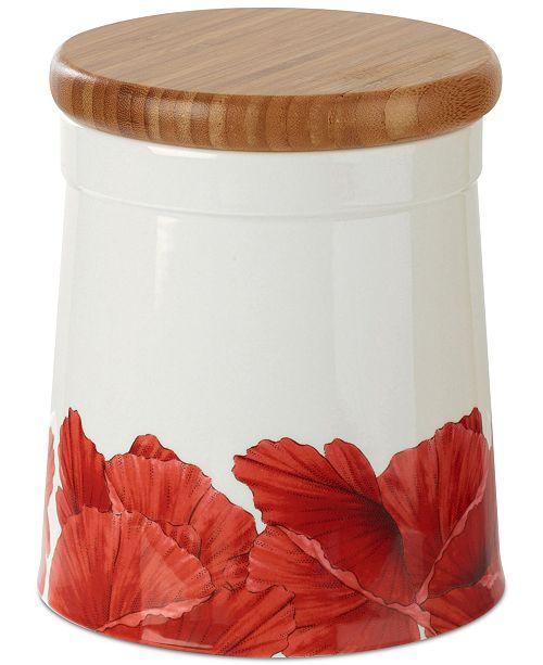 Portmeirion Botanic Garden Blooms Poppy 6.5  Storage Jar
