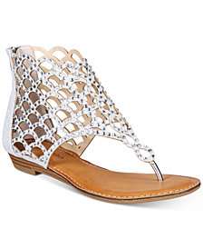 ZiGi Soho Melaa Caged Flat Thong Sandals