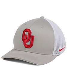 Nike Oklahoma Sooners Aero Bill Mesh Swooshflex Cap