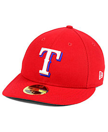 New Era Texas Rangers Low Profile AC Performance 59FIFTY Cap