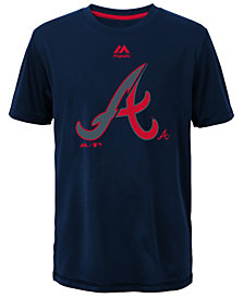 Majestic  Atlanta Braves Split Series Ultra T-Shirt, Big Boys (8-20)