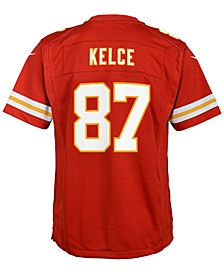 Travis Kelce Kansas City Chiefs Game Jersey, Big Boys (8-20)