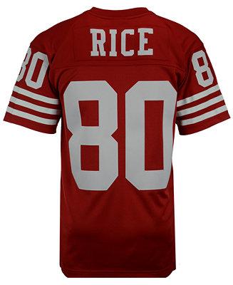 Mitchell & Ness Men's Jerry Rice San Francisco 49ers Replica ...