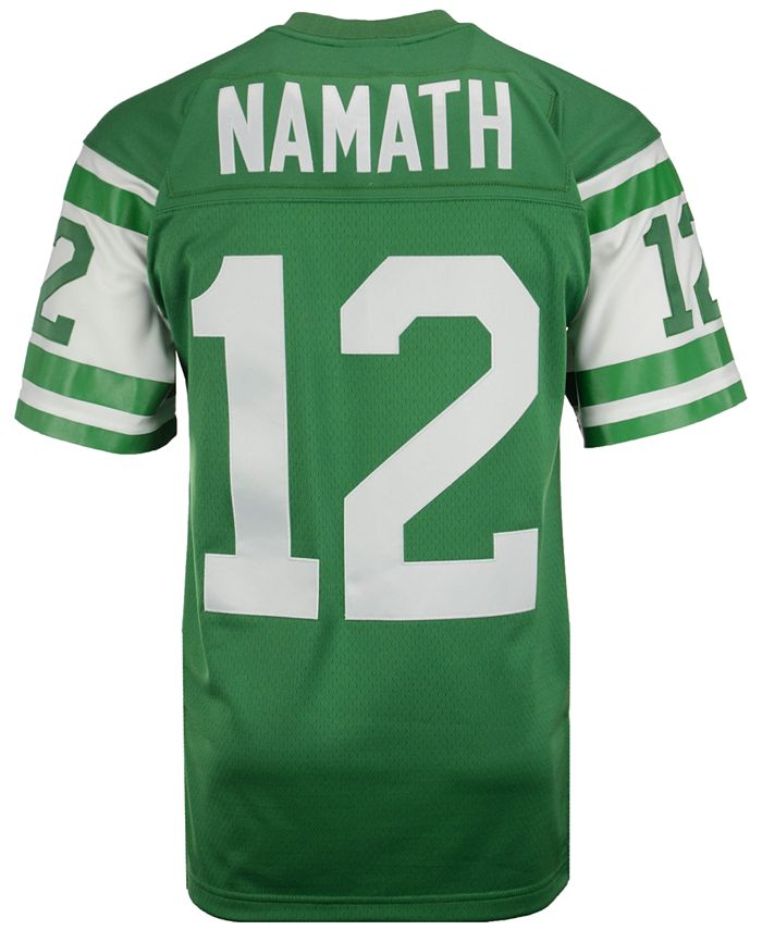 Mitchell & Ness Men's Joe Namath New York Jets Replica ...