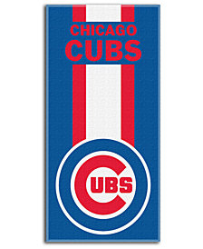 "Northwest Company Chicago Cubs Beach Towel ""Zone Read"""