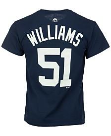 Majestic Men's Bernie Williams New York Yankees Cooperstown Player T-Shirt
