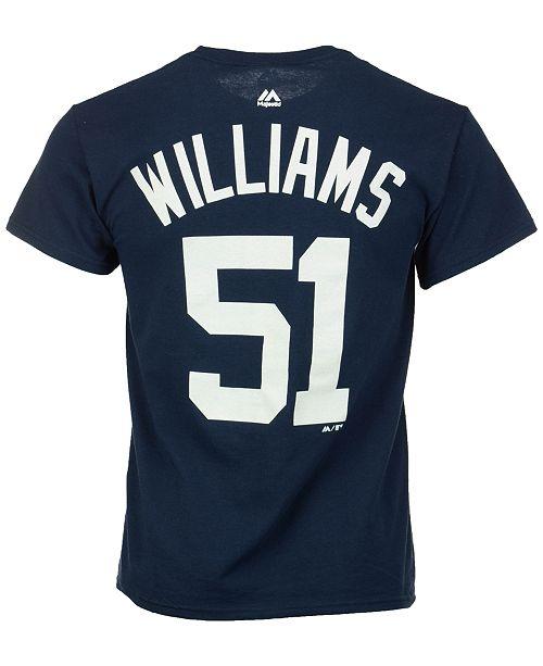 buy online 72235 08324 Majestic Men's Bernie Williams New York Yankees Cooperstown ...