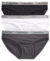 70ecc619c228c Calvin Klein Radiant Cotton Bikini 3-Pack QD3589