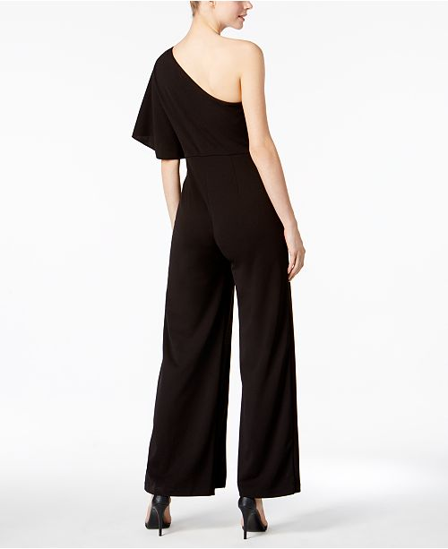 Adrianna Papell One Shoulder Jumpsuit Pants Women Macys