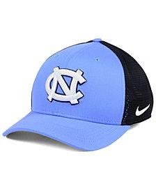 Nike North Carolina Tar Heels Aero Bill Mesh Swooshflex Cap